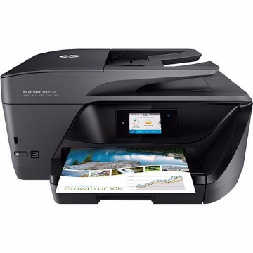 Impressora Multifuncional HP Officejet Pro 6970 Jato de Tinta All-In-One - Impressora + Copiadora + Scanner + Fax