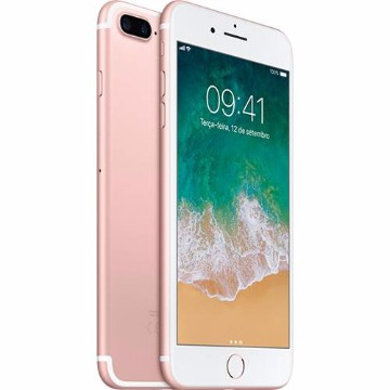 "iPhone 7 Plus 32GB Ouro Rosa Tela Retina HD 5,5"" 3D Touch Câmera Dupla de 12MP - Apple"