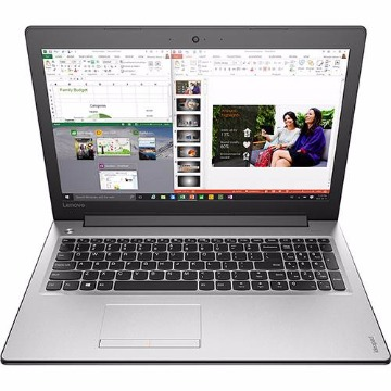 "Notebook Lenovo Ideapad 310 Intel Core i5 8GB (GeForce 920M de 2GB) 1TB Tela LED 15,6"" Windows 10 - Prata"