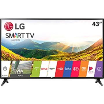 "Smart TV LED 43"" LG 43lj5500 Full HD com Conversor Digital Wi-Fi integrado 1 USB 2 HDMI Com Webos 3.5 Sistema de Som Virtual Surround Plus"