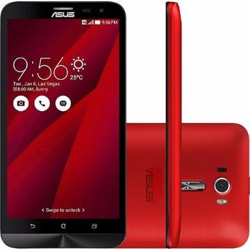 """Smartphone Asus Zenfone 2 Laser Dual Chip Desbloqueado Android 5.0 Tela 6"""" 16GB 4G Câmera 13MP - Vermelho"""