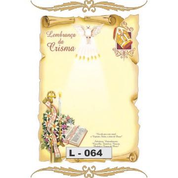 Lembrança de Sacramento - Eucaristia(01) s/pauta
