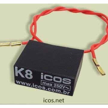 Filtro Supressor K8 Icos - com 10 peças