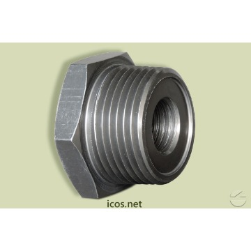 """Conexão 1""""NPTxM16 Alumínio - Icos"""