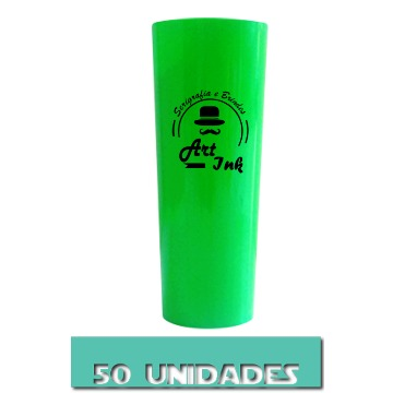 LONG DRINK VERDE 350ML 50 UNIDADES