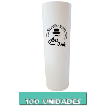 LONG DRINK BRANCO 350ML 100 UNIDADES