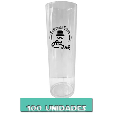 LONG DRINK CRISTAL 350ML 100 UNIDADES