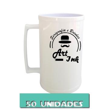 CANECA BRANCA 500ML (50 UNIDADES)