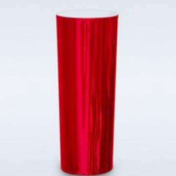 METALIZADO HOT STAMP VERMELHO 350ML (PED. MIN. 50 UNID.)