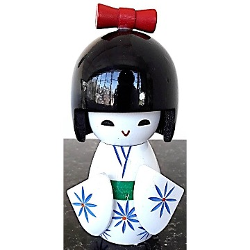 Kokeshi Boneca Decorativa