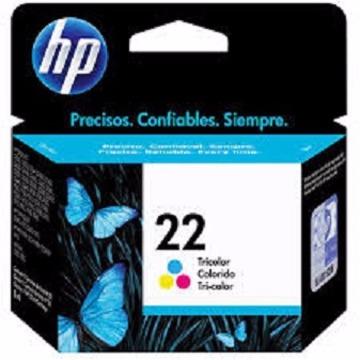 Cartucho de tinta colorido HP 22 C9352AB