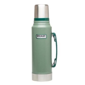 Garrafa Térmica Stanley Classic Inox 8006 Verde 1000 Ml