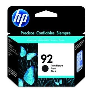 Cartucho de tinta preto HP 92 - C9362WB