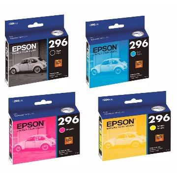 Cartucho de tinta Epson T296120-BR - Preto - 4 ml