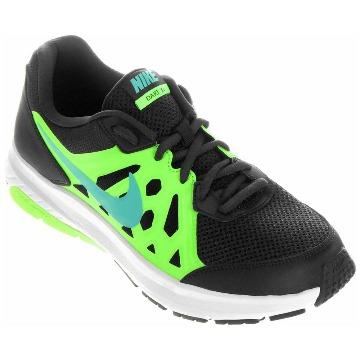 Tênis Nike Dart 11 MSL PRETO/VERDE