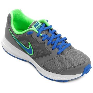 Tênis Nike Downshifter 6 MSL CINZA/VERDE