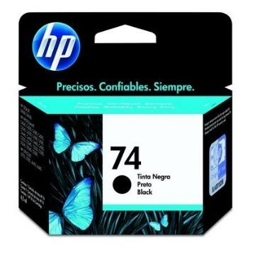 Cartucho de tinta preto HP 74 CB335WB