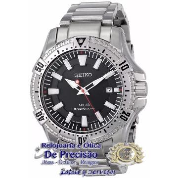 bb60c6d0ab444 RELÓGIO SEIKO SOLAR DIVER S 200M V157AA 1 (7891529073223) - De Precisão  relojoaria e ótica