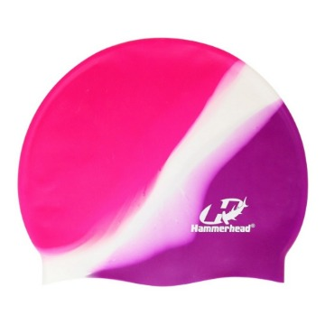 Touca de Silicone Multicor HammerHead violeta branca lilas