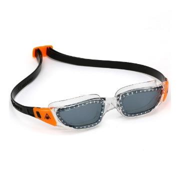 Óculos Kameleon Jr AquaSphere preto laranja fumê