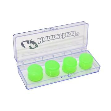 Protetor de ouvido silicone verde HammerHead