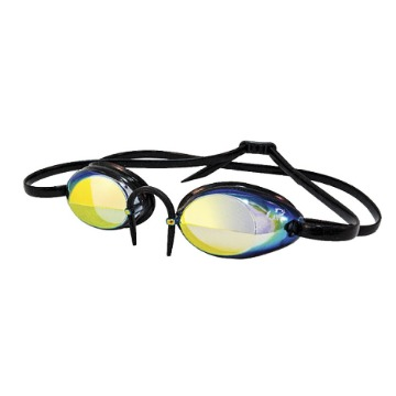 Óculos Hydroflow Mirror preto dourado