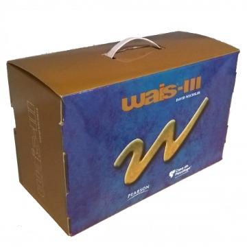 WAIS III - ESCALA DE INTELIGÊNCIA WECHSLER PARA ADULTOS (KIT COMPLETO)