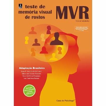 MVR - TESTE DE MEMÓRIA VISUAL DE ROSTOS - BLOCO FOLHAS DE RESPOSTA (25 FLS)