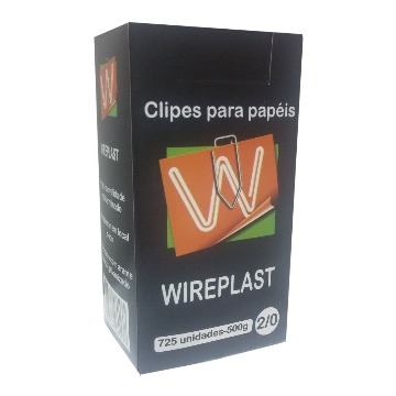 CLIPES WIREPLAST 500G N 2/0 GALVANIZADO