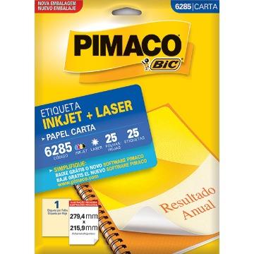 ETIQUETA PIMACO  REF. 6285 - 25 FLS