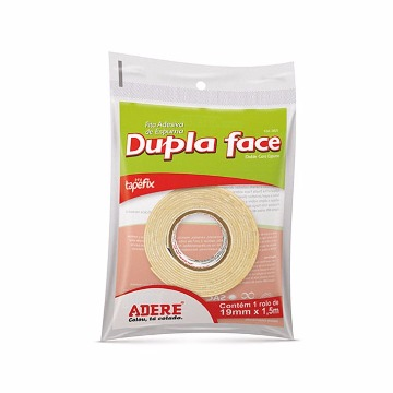 FITA DUPLA FACE ADERE  19MMX1,5M