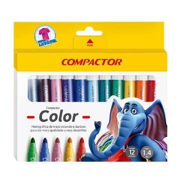 CANETA COMPACT COLOR 12 COMPACTOR