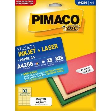 ETIQUETA PIMACO  REF. 4256 - 25 FLS