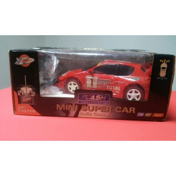 Mini Super Car Radio Control Flash Power System Car