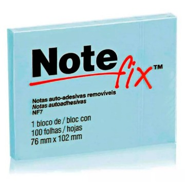 Bloco Adesivo Note Fix 76x102mm - AZ