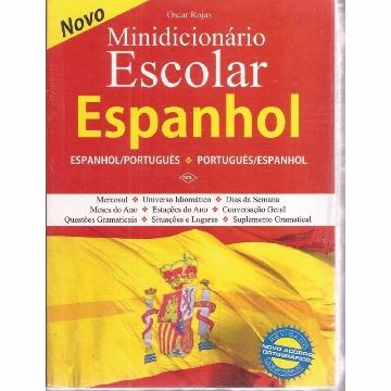 MINI DICIONARIO ESPANHOL - OSCAR ROJAS