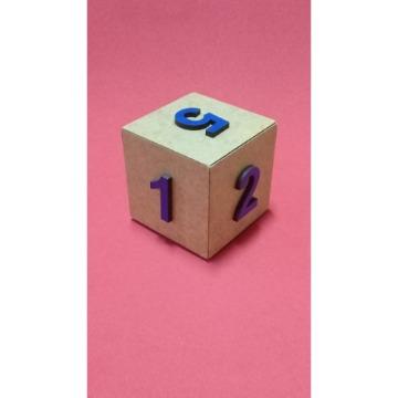 Dado especial para professores 6x6x6 cm
