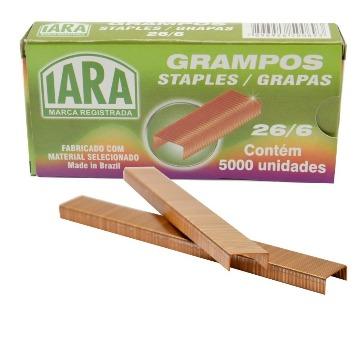 GRAMPO COBREADO 26/6 CAIXA COM 5000 - IARA