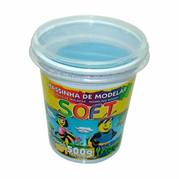 MASSA MODELAR SOFT 500G 109 AZUL ACRILEX
