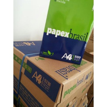 PAPEL A4 75GRS PAPEX BRASIL 500 FLS CAIXA 10 PCTS