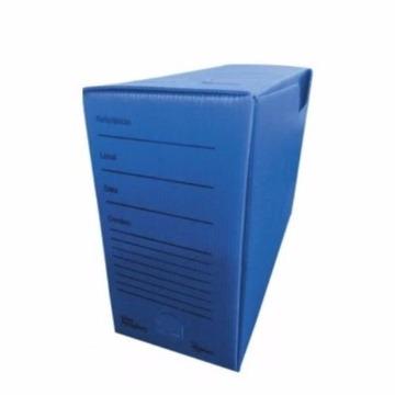 Arquivo Morto Alaplast Prático Office Linha Multionda UN - AZUL