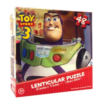 Quebra-Cabeça Super 3D Toy Story - Dinossauro - Yellow