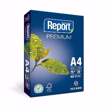 PAPEL SUZANO REPORT PREMIUM A4 75G/M2 500F