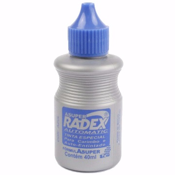 TINTA RADEX AUTOMATIC SUPER 2 EM 1  AZUL 40ML