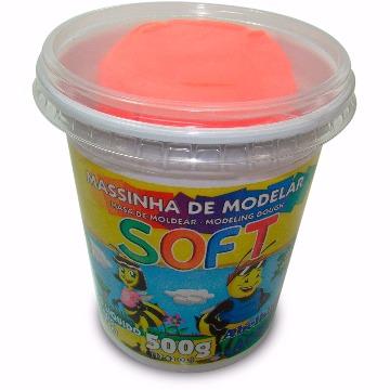 MASSA MODELAR SOFT 500G 103 VERMELHO ACRILEX