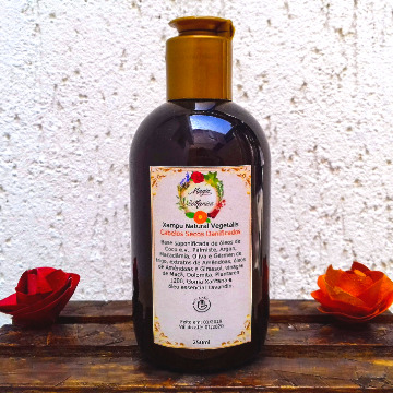 Shampoo Natural Vegetalis Cabelos Secos Danificados