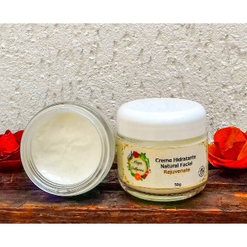 Creme Hidratante Natural Facial Rejuvenate com vitamina B3