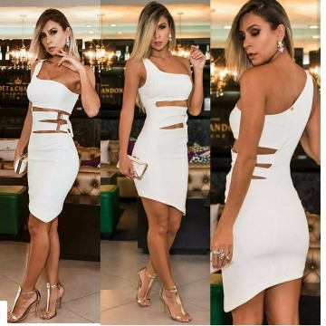 Vestido DIMY branco P