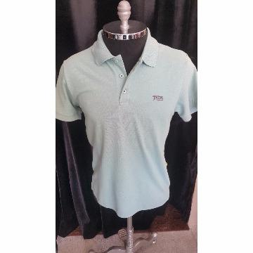 camisa polo verde triton M