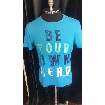 camisa azul scaven P